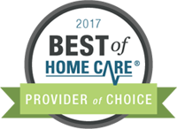 2017 Best of Home Care Provider of Choice