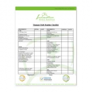 Personal Care Home Manager Daily Routine Checklist thumbnail