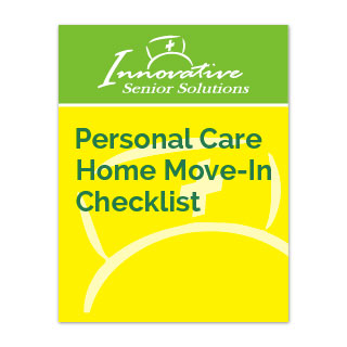 Personal Care Home Move-In Checklist cover