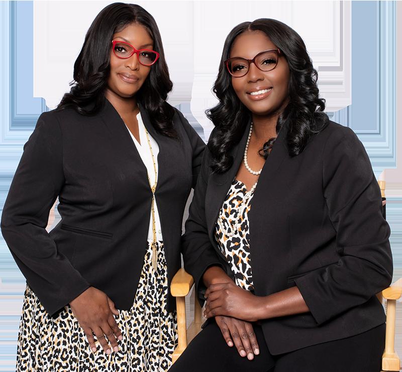 Eshonda Blue and Jessica Wright